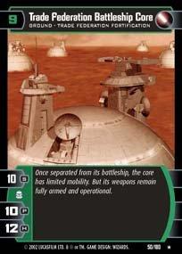 #050 Trade Fedration Battleship Core AOTC