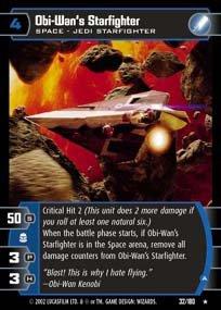 #032 Obi-Wan's Starfighter (A) AOTC