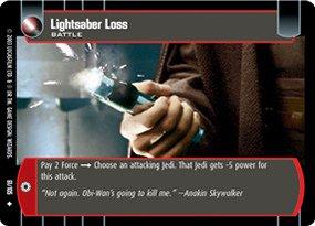 #061 Lightsaber Loss JG