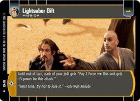 #060 Lightsaber Gift JG