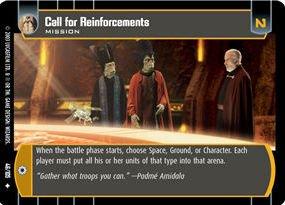 #046 Call of Reinforcements JG