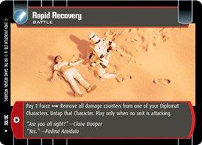 #036 Rapid Recovery Star Wars TCG JG