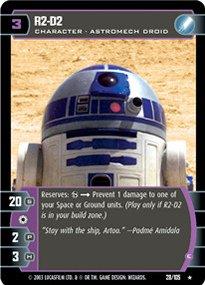 #028 R2-D2 (E) Star Wars TCG JG
