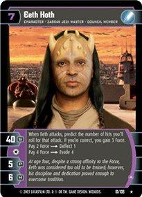 #010 Eeth Koth (A) Star Wars TCG JG