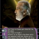 #009 Darth Tyranus (F) Star Wars TCG JG