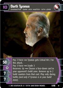 #009 Darth Tyranus (F) Star Wars TCG JG