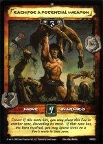 Each Foe a Potential Weapon (R) Conan CCG