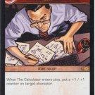 The Calculator, Q.E.D. FOIL DCL-158 (C) DC Legends VS System TCG