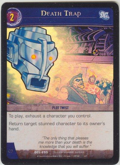 Death Trap FOIL DCL-255 (C) DC Legends VS System TCG