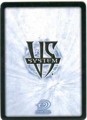 Tarik The Mute, Legion of Super Villians FOIL DLS-065 (C) DC Legion of Superheroes VS System TCG
