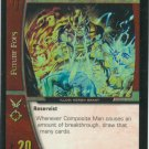 Composite Man, Living Weapon FOIL DLS-047 (R) DC Legion of Superheroes VS System TCG