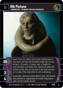 #5 Bib Fortuna (A) (RotJ rare) Star Wars TCG