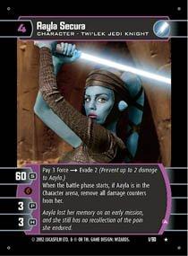 #1 Aayla Secura (A) (SR rare)
