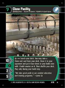 #6 Clone Facility (SR rare)