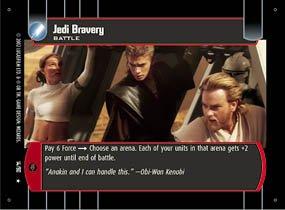 #14 Jedi Bravery (SR rare)
