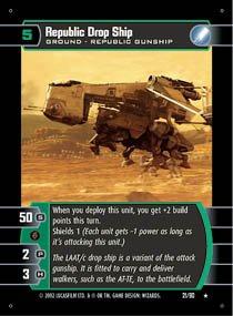#21 Republic Drop Ship (SR rare)