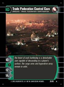 #26 Trade Federation Control Core (SR rare)