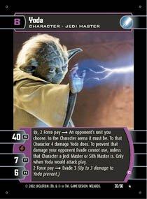#30 Yoda (C) (SR rare)