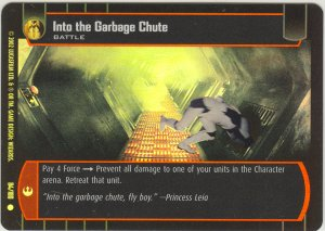 #84 Into the Garbage Chute FOIL ANH
