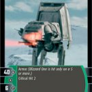 #6 Blizzard One (A) (ESB rare) Star Wars TCG