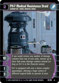 #25 FX-7 Medical Droid (A) (ESB rare) Star Wars TCG