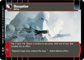 #49 Occupation (ESB rare) Star Wars TCG