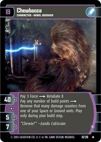 #10 Chewbacca (E) (ESB uncommon) Star Wars TCG