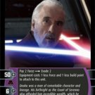 #8 Darth Tyranus (I) Star Wars TCG (ROTS rare)