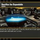 #31 Sacrifice the Expendable Star Wars TCG (ROTS rare)