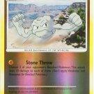 84 Geodude REVERSE FOIL (C) Mysterious Treasures Pokemon TCG