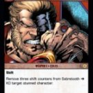 Sabretooth, Earth-295 * Team Leader (C) MEV-194 VS System TCG Marvel Evolutions