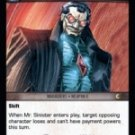 Mr. Sinister, Robert Windsor (U) MEV-098 VS System TCG Marvel Evolutions
