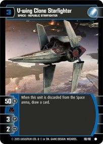 #110 V-wing Clone Starfighter (ROTS common)