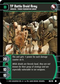 #105 TF Battle Droid Army (ROTS common)