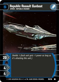 #99 Republic Assault Gunboat (ROTS common)