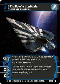 #97 Plo Koon's Starfighter (A) (ROTS common)