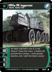 #88 HAVw A6 Juggernaut (ROTS common)