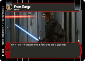 #87 Force Dodge (ROTS common)