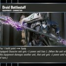 #85 Droid Battlestaff (ROTS common)