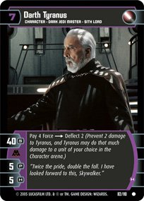 #82 Darth Tyranus (H) (ROTS common)