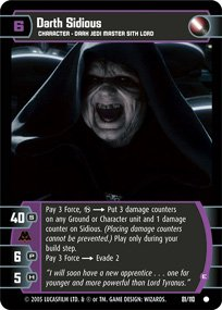 #81 Darth Sidious (E) (ROTS common)