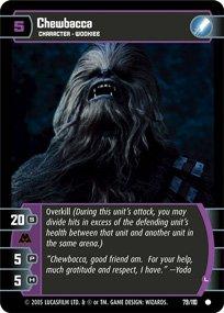 #79 Chewbacca (L) (ROTS common)