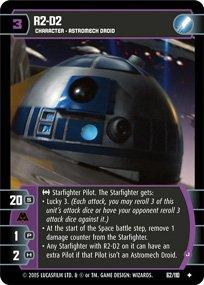 #62 R2-D2 (J) Star Wars TCG (ROTS uncommon)
