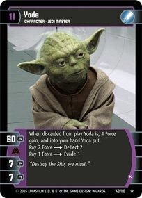 #40 Yoda (K) (ROTS rare)