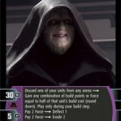 #47 Darth Sidious (F) Star Wars TCG (ROTS uncommon)