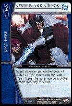 Order and Chaos (U) DLS-162 VS System TCG DC Legion of Superheroes