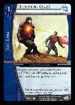 Burning Gaze (C) DCR-185 Infinite Crisis VS System TCG