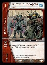 Insectoid Troopers, Army (C) DJL-087 DC Justice League VS System TCG