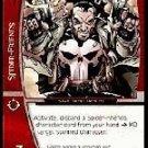 Punisher, Vigilante (U) MSM-005 Web of Spiderman Marvel VS System TCG