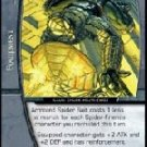 Armored Spider Suit (U) MSM-058 Web of Spiderman Marvel VS System TCG